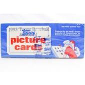 1993 Topps Gold Series 1 Baseball Vending Box (Reed Buy)
