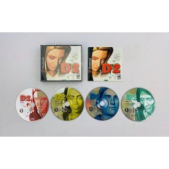Sega Dreamcast D2 Four Discs and Manual Complete
