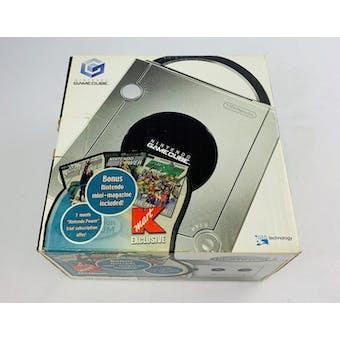 Nintendo GameCube Platinum System Kmart Exclusive Boxed Complete