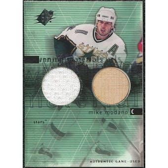 2000/01 Upper Deck SPx Winning Materials #MM Mike Modano SP Jersey Stick