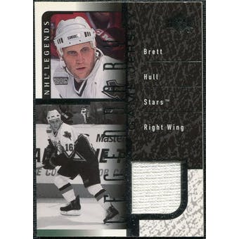 2000/01 Upper Deck Legends Legendary Game Jerseys #JBH Brett Hull