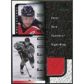 2000/01 Upper Deck Legends Legendary Game Jerseys #JPB Pavel Bure