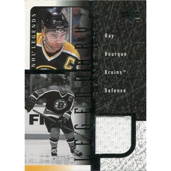 2000/01 Upper Deck Legends Legendary Game Jerseys #JRB Ray Bourque