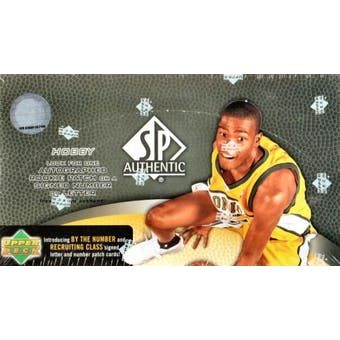 2007/08 Upper Deck SP Authentic Basketball Hobby Box
