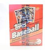 1993 Topps Series 2 Baseball Rack Box (Reed Buy)
