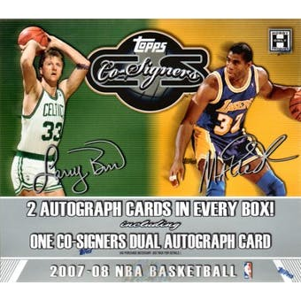 2007/08 Topps Co-Signers Basketball Hobby Box