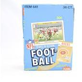 1982 Fleer in Action Football Wax Box (Reed Buy)