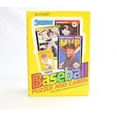 1989 Donruss Baseball Wax Box (Reed Buy)