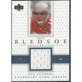 2000 Upper Deck Legends Legendary Jerseys #LJDB Drew Bledsoe