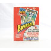 1991 Topps Baseball Wax Box (Factory Sealed) (Reed Buy)