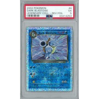 Pokemon Legendary Collection Reverse Foil Dark Blastoise 4/110 PSA 5
