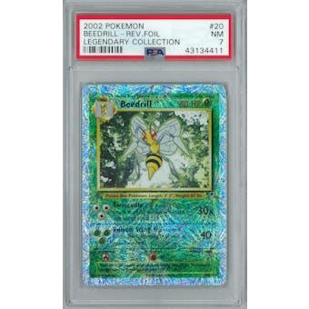 Pokemon Legendary Collection Reverse Foil Beedrill 20/110 PSA 7