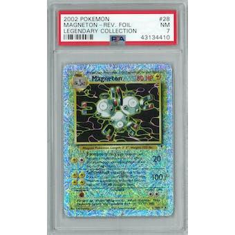 Pokemon Legendary Collection Reverse Foil Magneton 28/110 PSA 7