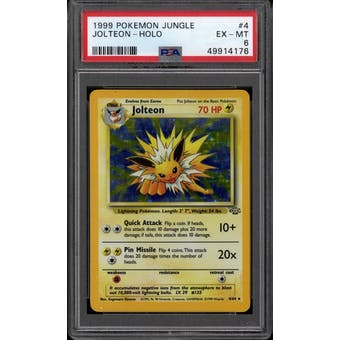 Pokemon Jungle Jolteon 4/64 PSA 7