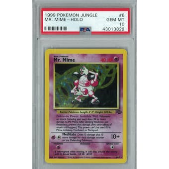 Pokemon Jungle Mr. Mime 6/64 PSA 10 GEM MINT
