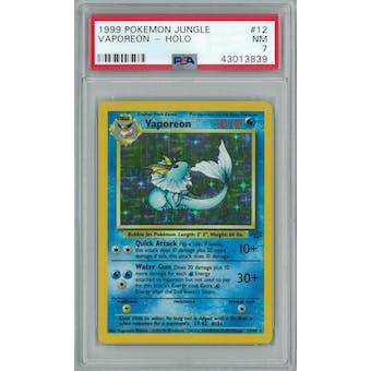 Pokemon Jungle Vaporeon 12/64 PSA 7