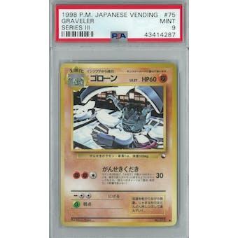 Pokemon Japanese Vending Series 3 Graveler  PSA 9