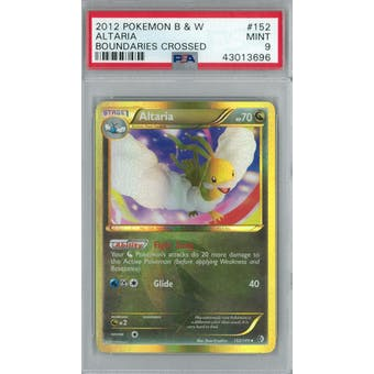 Pokemon Boundaries Crossed Altaria 152/149 PSA 9