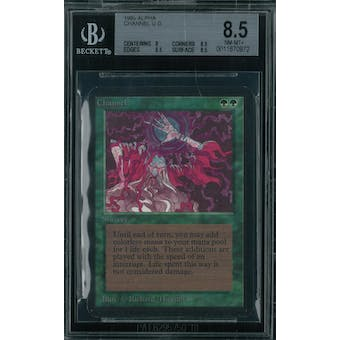 Magic the Gathering Alpha Channel BGS 8.5 (8, 8.5, 8.5, 8.5)