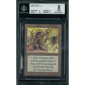 Magic the Gathering Alpha Meekstone BGS 8 (9, 8, 8.5, 8)