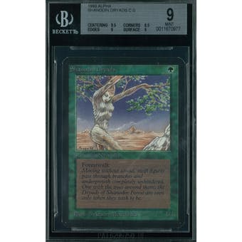 Magic the Gathering Alpha Shanodin Dryads BGS 9 (9.5, 8.5, 9, 9)