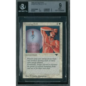 Magic the Gathering Antiquities Damping Field BGS 9 (9, 9, 8.5, 9)