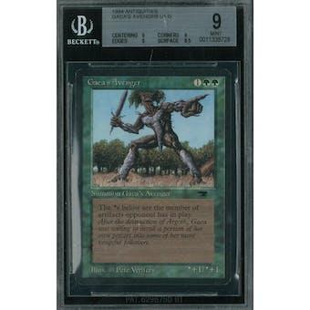 Magic the Gathering Antiquities Gaea's Avenger BGS 9 (9, 9, 9, 8.5)