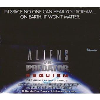 Alien VS Predator Requiem Hobby Box (2007 InkWorks)