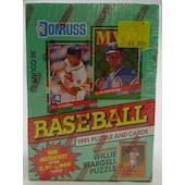 1991 Donruss Series 2 Baseball Wax Box (Reed Buy)