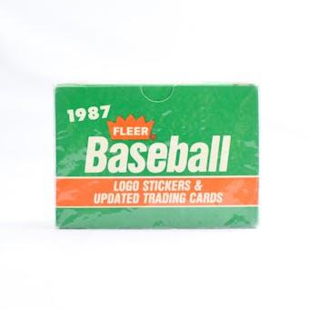 1987 Fleer Update Baseball Factory Set (Reed Buy)
