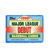 1990 Topps Major League Debut Baseball Factory Set (Reed Buy)