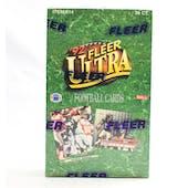 1992 Fleer Ultra Football Hobby Box (Reed Buy)