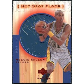 2001/02 Upper Deck Sweet Shot Hot Spot Floor #RMF Reggie Miller
