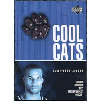 2001/02 Upper Deck Cool Cats Jerseys #RJC Richard Jefferson