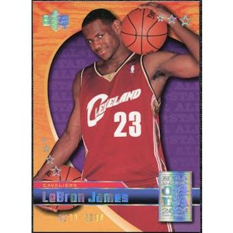 2004 Upper Deck All-Star Game #LJ4 LeBron James /2004