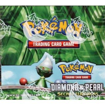 Pokemon Diamond & Pearl Secret Wonders Booster Box