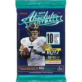 2019 Panini Absolute Football Retail Pack (Lot of 24)