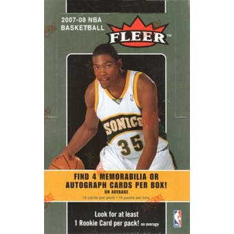 2007/08 Fleer Basketball Hobby Box