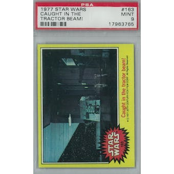 1977 Topps Star Wars #163 Tractor Beam PSA 9 (Mint) *3765 (Reed Buy)