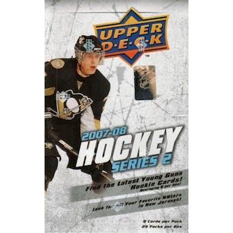2007/08 Upper Deck Series 2 Hockey Hobby Box
