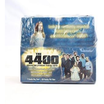The 4400 Season Two Hobby Box (2007 InkWorks) (Reed Buy)