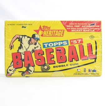 2006 Topps Heritage Baseball Hobby Box (Reed Buy)