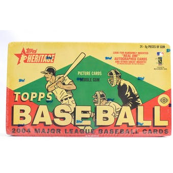 2004 Topps Heritage Baseball Hobby Box (Reed Buy)