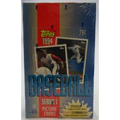 1994 Topps Series 1 Baseball Hobby Box (Reed Buy)