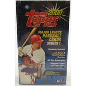 2000 Topps Series 1 Baseball Hobby Box (Reed Buy)