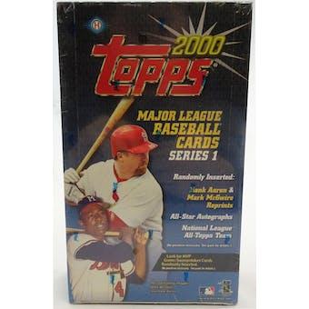 2000 Topps Series 1 Baseball Hobby Box (Reed Buy)