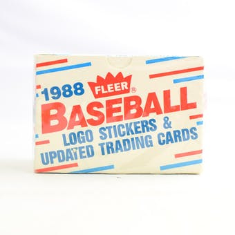 1988 Fleer Update Baseball Factory Set (Reed Buy)