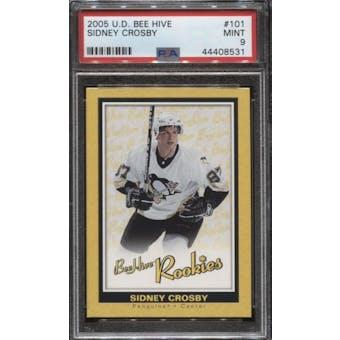 2005/06 Upper Deck Beehive Sidney Crosby Rookie Card #101 PSA 9