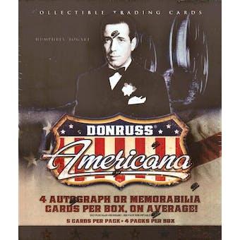 2007 Donruss Americana Hobby Box