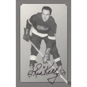 Parkhurst Pre-Parkie Red Kelly Autographed Card #/1000